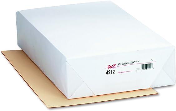 500 Sheets//Pack Pacon 4118 Cream Manila Drawing Paper Economy 50-lb 18 x 24