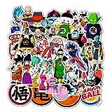 Dragon Ball Z Stickers 50PCS Funny Cartoon Anime...