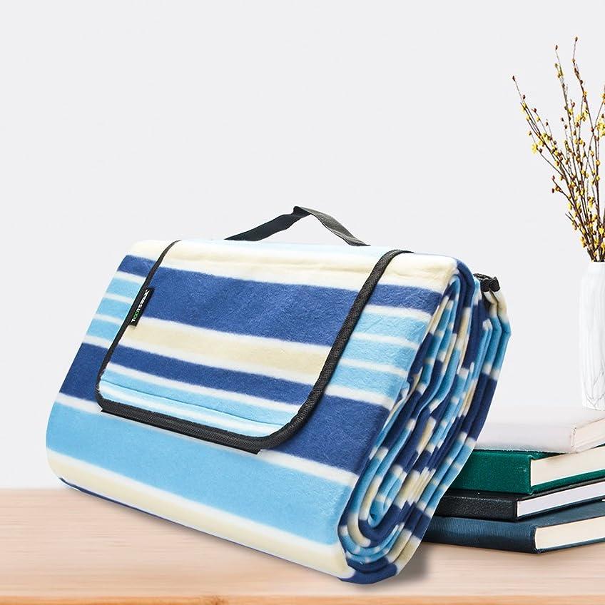 日没矛盾するリフトレジャーシート ピクニックシート 厚手 折りたたみ 軽量 防水 湿気を防げる 洗濯可能 収納簡単 広いサイズ 3~5人用 150*200㎝