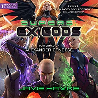 Supers: Ex Gods audiobook cover art