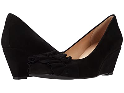 French Sole Brie (Black Suede) Women