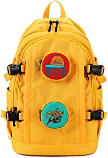 Backpack Bags, School Bags Waterproof Hiking Backpack Fashion Schoolbag Travel Camping Casual Daypacks Lightweight Bag Fits Computer Notebook Daypack for Work, College