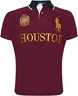 Polo Ralph Lauren Mens Custom Slim Fit Mesh City Polo Shirt
