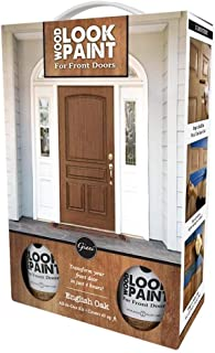 Giani Wood Look Paint Kit for Front & Interior Doors (English Oak)