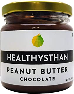 Healthysthan - Peanut Butter Chocolate (Rich Cocoa) - (800 grams) Naturally Sweetened with Jaggery, High Protein, Healthy ...