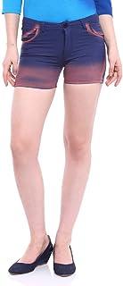 Campus Sutra Women Spray Shorts