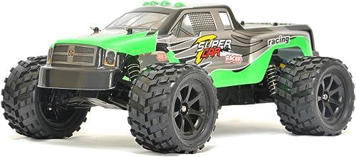 ES-TOYS RC Elektro Monster Truck 1 12 mit 2,4Ghz , 50 km h Terminator von WL (Grün)