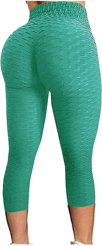WOSHUAI TIK Tok High Waist Hip Leggings for Womens Mens TIK Tok Tummy Control Stretch Pants