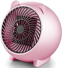 DDDD store Mini Calefacdor Eléctrico, Calefactor Electrico de Aniones, Calefactor PTC, 250W Calefactor Ventilador Ceramico Portatil,Protección contra Sobrecalentamiento