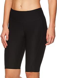 Reebok Women's Compression Running Shorts - High Waisted Performance Workout Short
