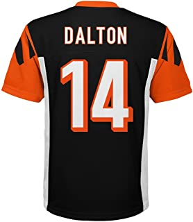 Outerstuff Andy Dalton Cincinnati Bengals #14 NFL Kids 4-7 Mid-tier Jersey Black