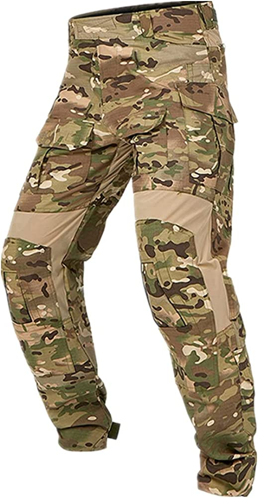 Camouflage Pants Autumn Soldiers Combat Airsoft Army