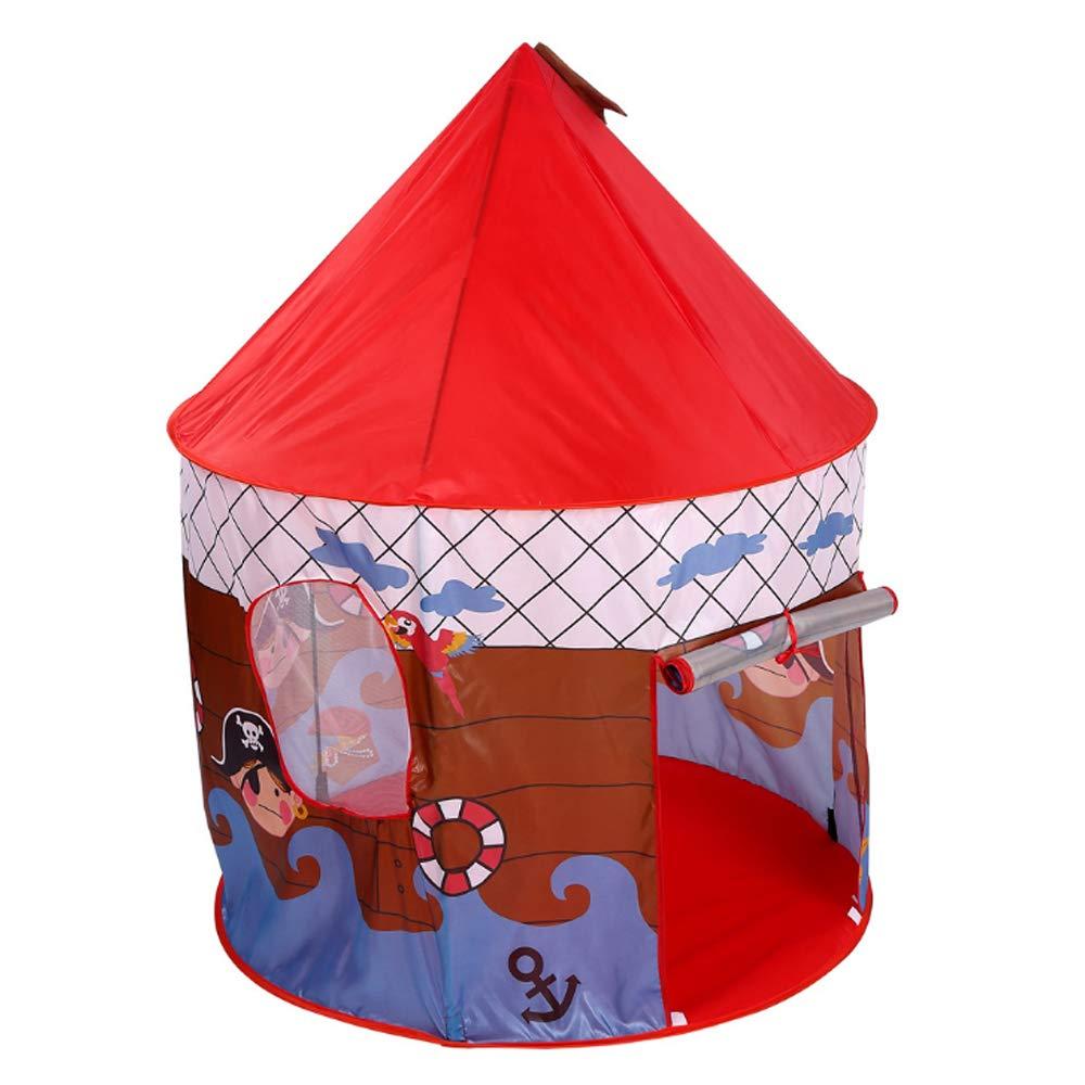 LAL6 Tienda de campaña para niños Juego de Juguete de casa para niños y niñas Pirata al Aire Libre Princesa Casa Mosquito Net: Amazon.es: Deportes y aire libre