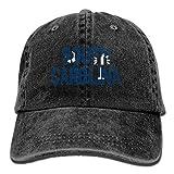 Hoswee Unisexo Gorras de béisbol/Sombrero, Adults South Carolina Flag Palm Adjustable Casual Cool Baseball Cap Retro Cowboy Hat Cotton Dyed Caps