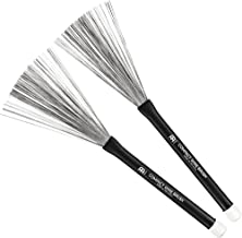 MEINL Stick & Brush マイネル ブラシ COMPACT WIRE BRUSH ラバーグリップ SB301 【国内正規品】