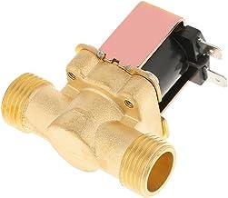 """Elektrisk magnetventil, Asix x 1/2"""" DC 12 V normalt stängd mässing elektrisk magnetventil för vattenkontroll, slitstark, k..."""