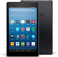 "Certified Refurbished Fire HD 8 Tablet with Alexa, 8"" HD Display, 32 GB, Black - with Special Offers (Previous Generation ..."