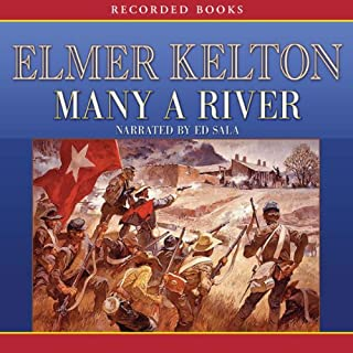 Many a River audiobook cover art
