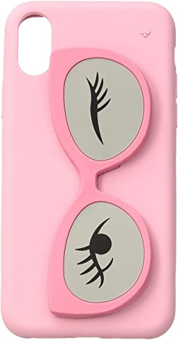 Kate Spade New York - Silicone Sunglass Stand Phone Case for iPhone® X