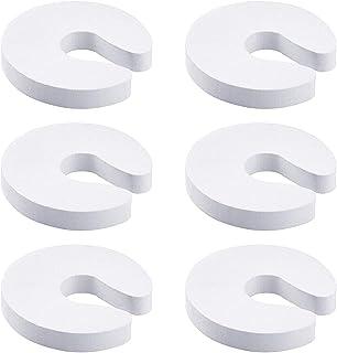 Lainrrew 6 Pack Finger Pinch Guard, Baby Proofing Doors with Foam Door Stopper, Baby Finger Protectors, Prevent Finger Pin...