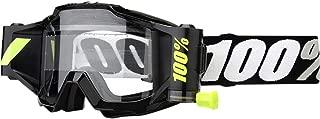 100% Unisex-Adult Speedlab (50220-059-02) ACCURI Forecast Goggle Tornado-Clear Lens, One Size)