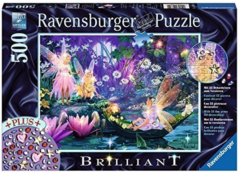 Ravensburger In the fairies forest Brilliant Puzzle (500-Piece) by Ravensburger Spieleverlag B017N1W39E Preisrotuktion  | Online Shop Europe