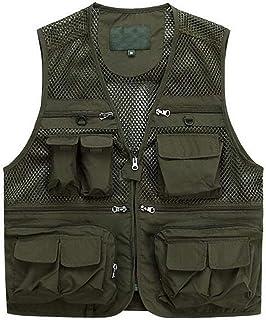 Cappotto Da Uomo Stile Moda Impermeabile Senza Maniche Uomo Semplice Outdoor Multi Pocket Gilet Giacche Capispalla
