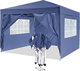 comprar comparacion YUEBO Gazebo 3x3 m Carpas Plegables Impermeables Pergola Plegable Cenador Camping Cenadores para Jardin, Playa, terraza