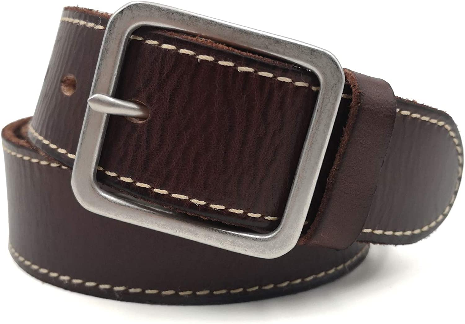 Men's Genuine Leather Belts Free Shipping with Buckle Top-Gr Solid Brass Low price Gold