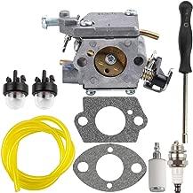 309362003 Carburetor with Adjustment Tool Parts Kit for Homelite 309362001 35cc 38cc 42cc Chainsaw UT-10562 UT-10564 UT-10566 UT-10568 Carb