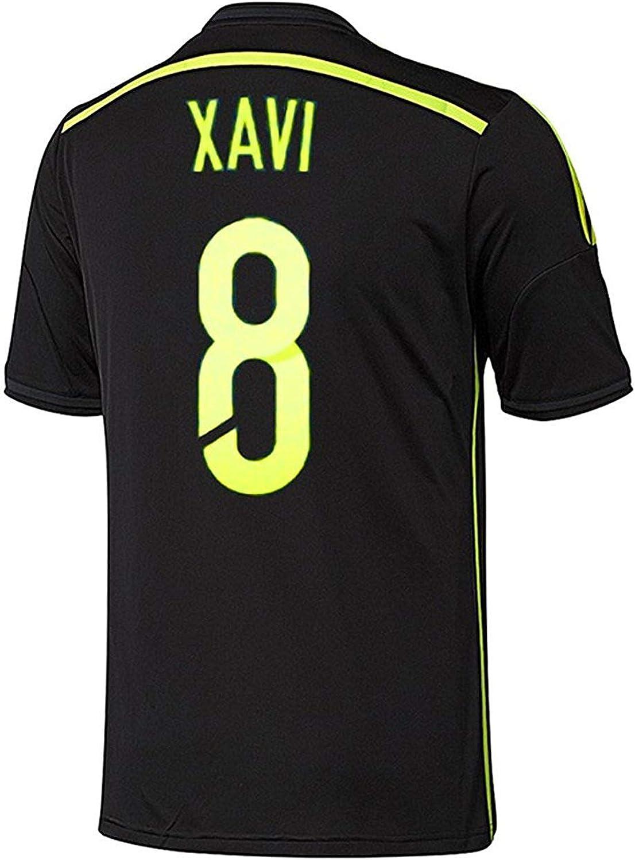 Adidas XAVI  8 Spain Away Jersey World Cup 2014 (L)