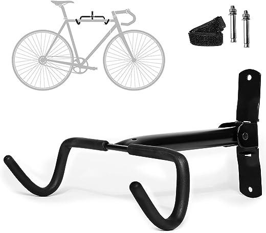 Charles Daily klappbare Fahrradhalterung Wand - Fahrradaufhängung Wand - platzsparende Rennrad Wandhalterung - Fahrradwandhalterungen für die...