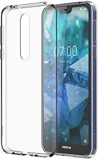 Nokia 7.1 Case - Official Nokia Accessory - Clear (Renewed)