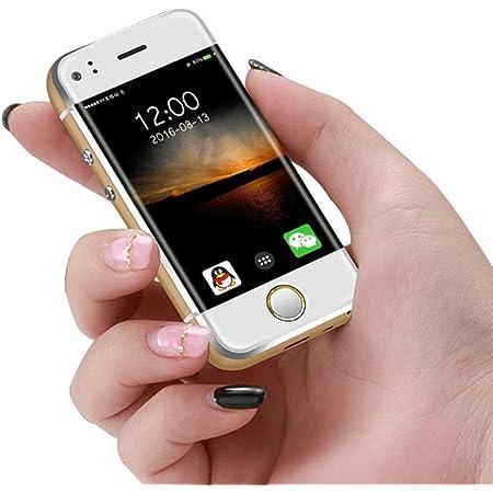 Mini teléfono móvil desbloqueado 2,45 pulgadas Soyes Smartphone Android 5.1 OS teléfono celular (oro)