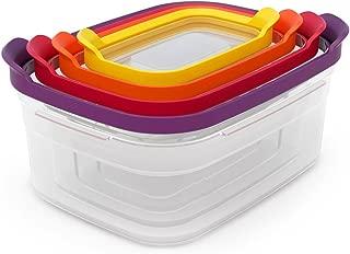Joseph Joseph Nest Compact Storage Containers, 4-Piece Set - Multi-Colour