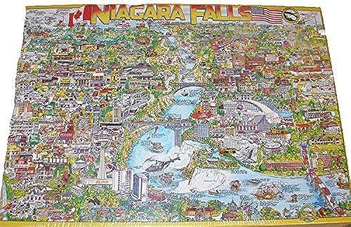 City of Niagara Falls Jigsaw Puzzle 513 Pieces by Buffalo Games