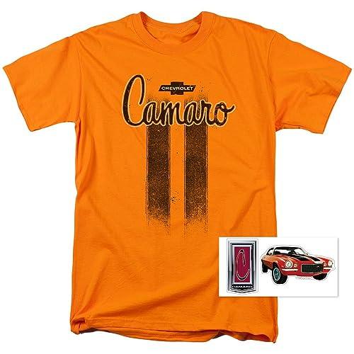 f1110903 Chevy Camaro Vintage Car Logo GM T Shirt