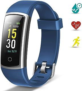comprar comparacion Lintelek Pulsera Actividad, Reloj Inteligente con Medidor de Ritmo Cardíaco Presión Arterial, Reloj Deportivo Compatible a...