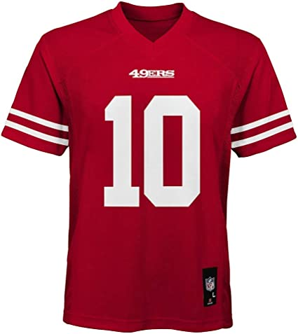 49ers home jersey