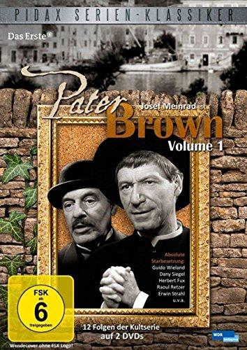 Pater Brown, Vol. 1 - Kultserie mit Josef Meinrad (Pidax Serien-Klassiker) [2 DVDs]