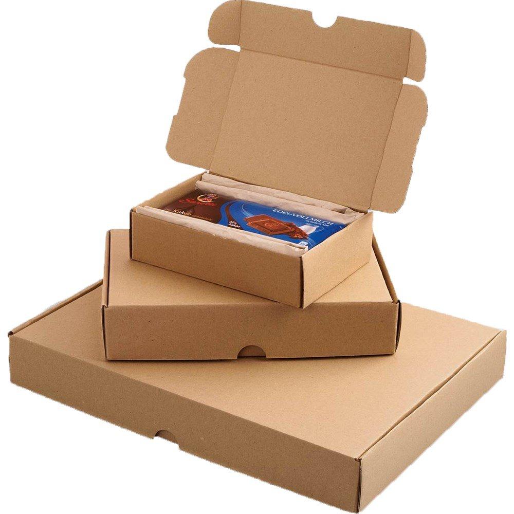 Smartbox 225 x 155 x 45 mm A5 Econ correo caja – Marrón (Pack de 25): Amazon.es: Oficina y papelería