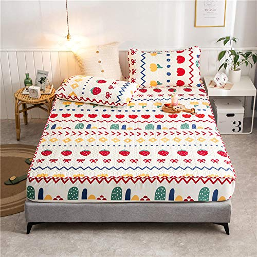 GTWOZNB Comfortable Sheets Machine Washable Breathable Fabric Waterproof and breathable bed sheet printing-7_120*200cm
