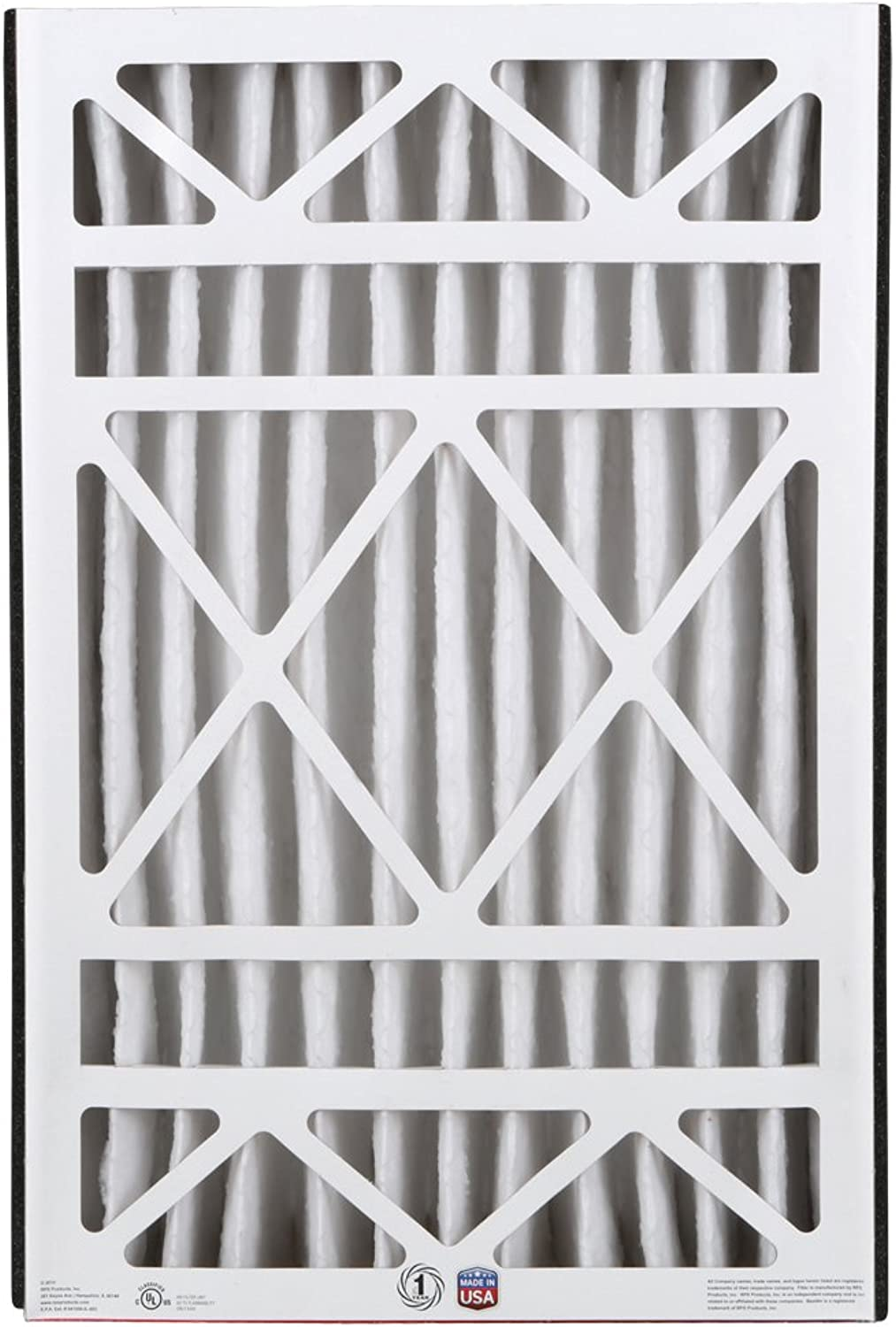 BestAir Cleaning Furnace Filter, MERV 11, for Trion Air Bear, Supreme, Skuttle, GeneralAire, Source1 & Ultravation Models, 16  x 25  x 5 , 3