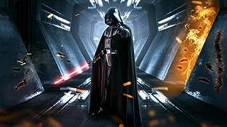 warmwfw Puzzles 1000 pièces Puzzles pour Adultes Dark Vador Star Wars décompressant Jeu Familial Amusant pour Enfants adul...