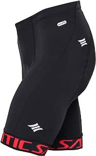 Santic Cycling Men's Shorts Biking Bike Pants 4D Coolmax Padded 1/2 Pants Breathable
