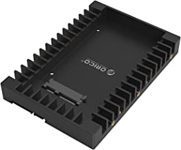 ORICO 2.5 to 3.5 Hard Drive Adapter HDD SSD Mounting Bracket Tray for 7/9.5/12.5mm 2.5 Inch HDD/SSD with SATA III Interface