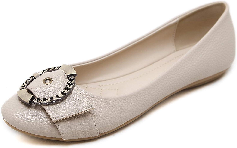 A-LING Women's Ballet Flats Comfort Slip On Fashion Dress shoes