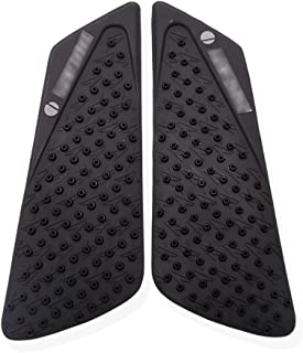 Black Tank Traction Side Pad Gas Fuel Knee Protector - Ducati 848 1098 1198 2008-2014