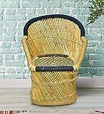 Brightway Collection Bamboo Chair, Mudda (Black)