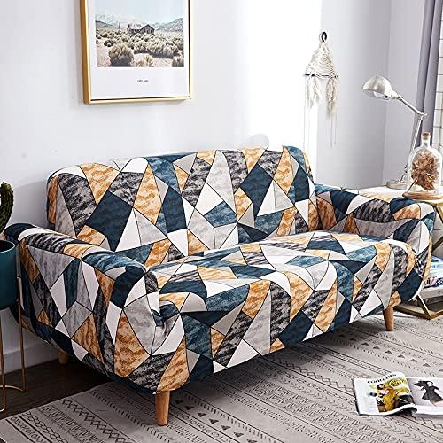 Funda de sofá elástica para sillón, Funda de sofá de poliéster Ultrafina para Sala de Estar, Funda Universal para sofá, Funda A30 de 4 plazas